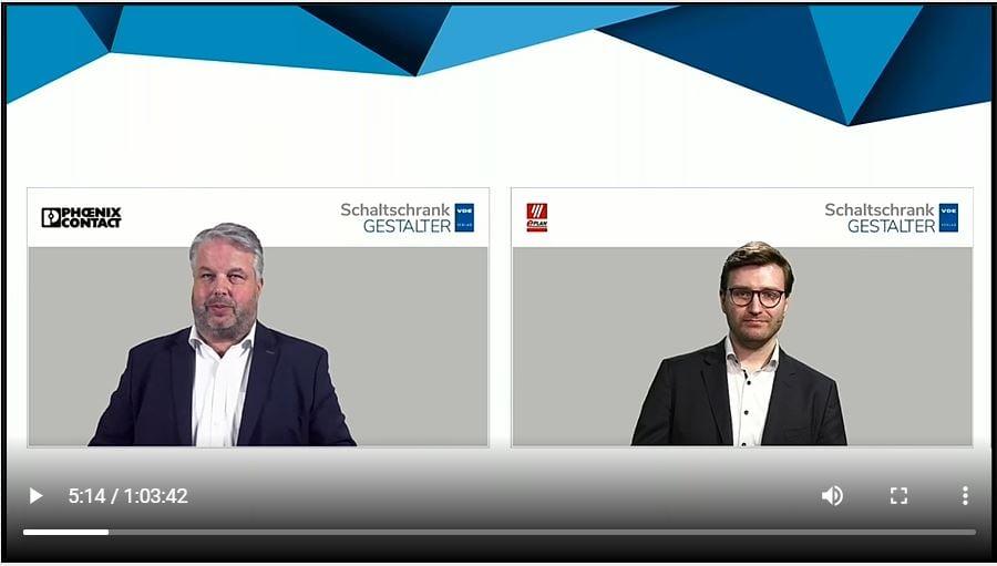 Webinar aus der Initiative Schaltschrankgestalter mit Eplan und Phönix Contact