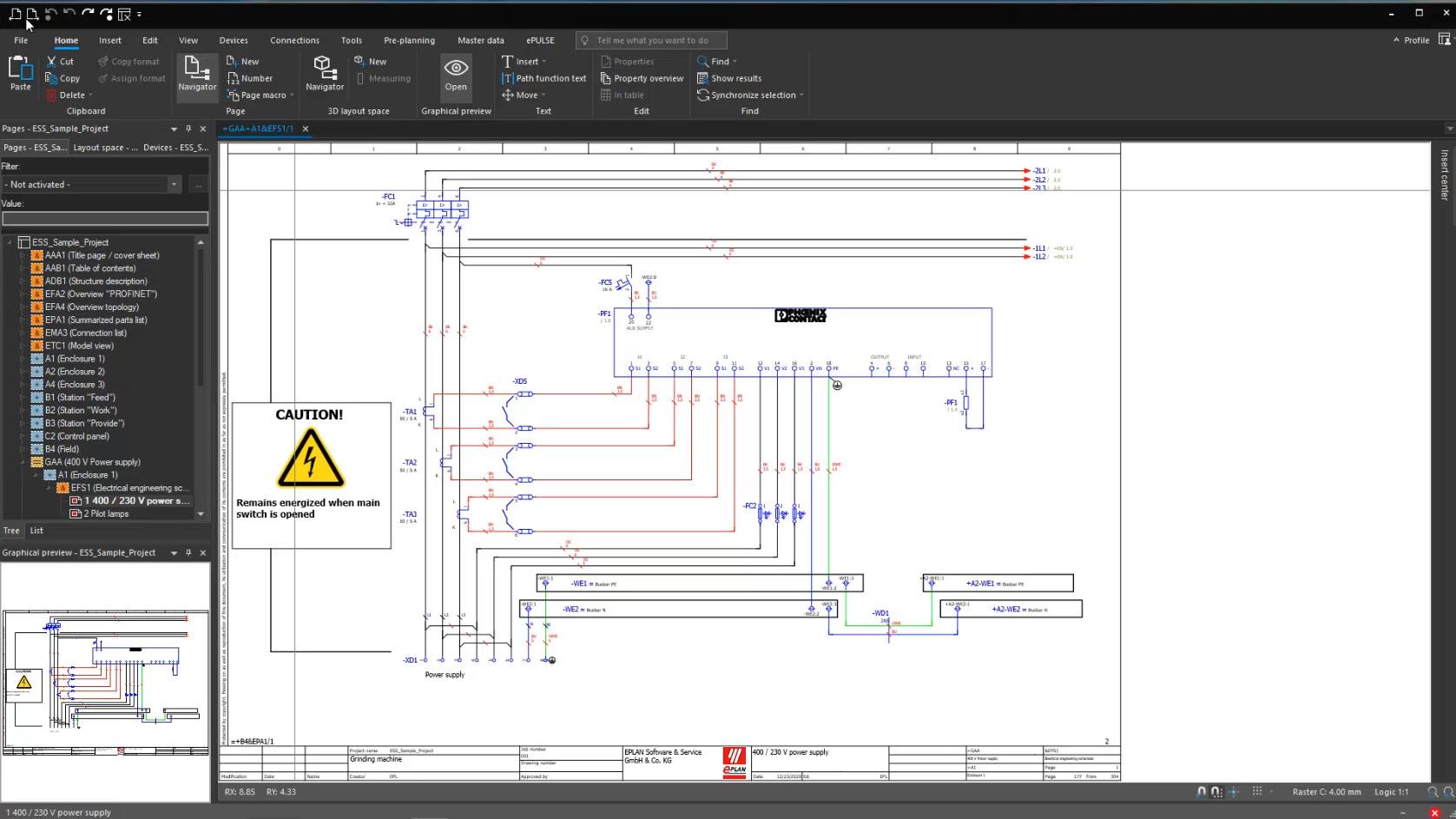 Eplan Plattform 2022 Screenshot
