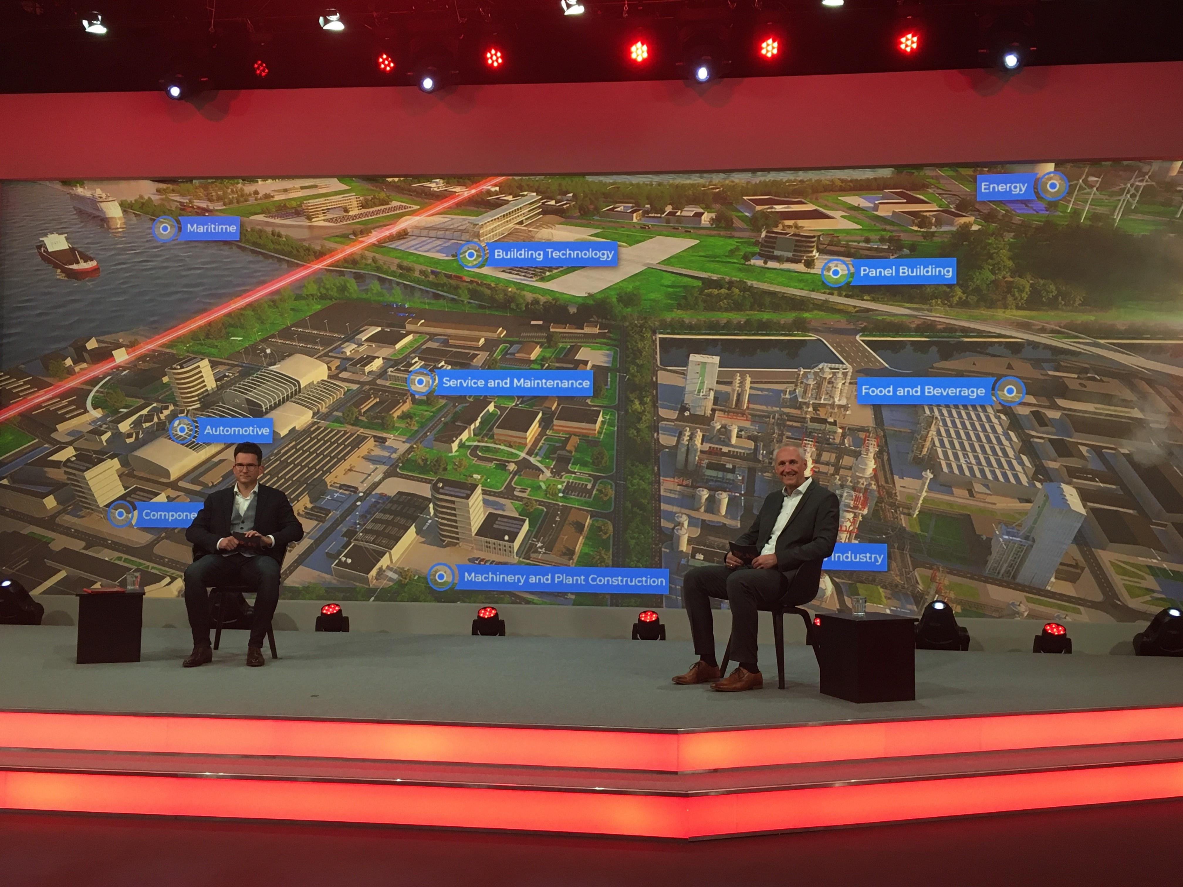 Speziell zugeschnittene Lösungen für bestimmte Branchen standen auf der Agenda der Eplan Virtual Fair 2021..