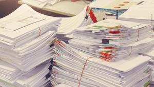Papierlos arbeiten heißt Papierberge vermeiden und effizienter zu Arbeiten.