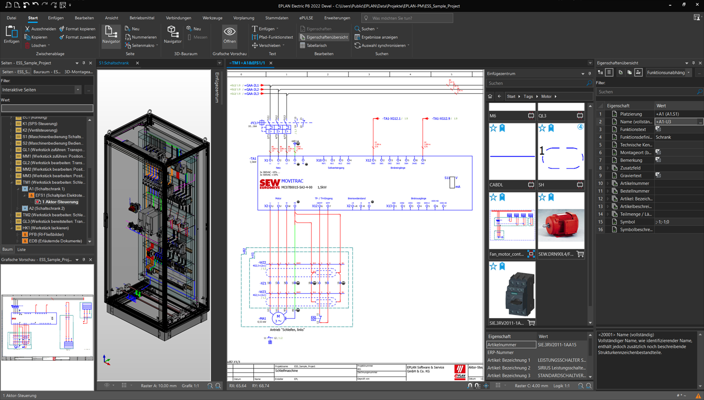 EPLAN Platform 2022 Screenshot
