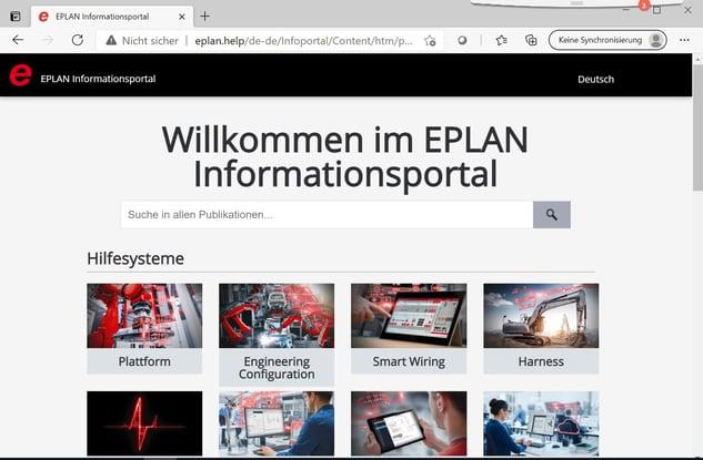 Eplan Help Screenshot