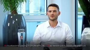 Hendrik Albertz, Vertrieb Eplan, im Kurzinterview zum neuen Eplan eBuild: