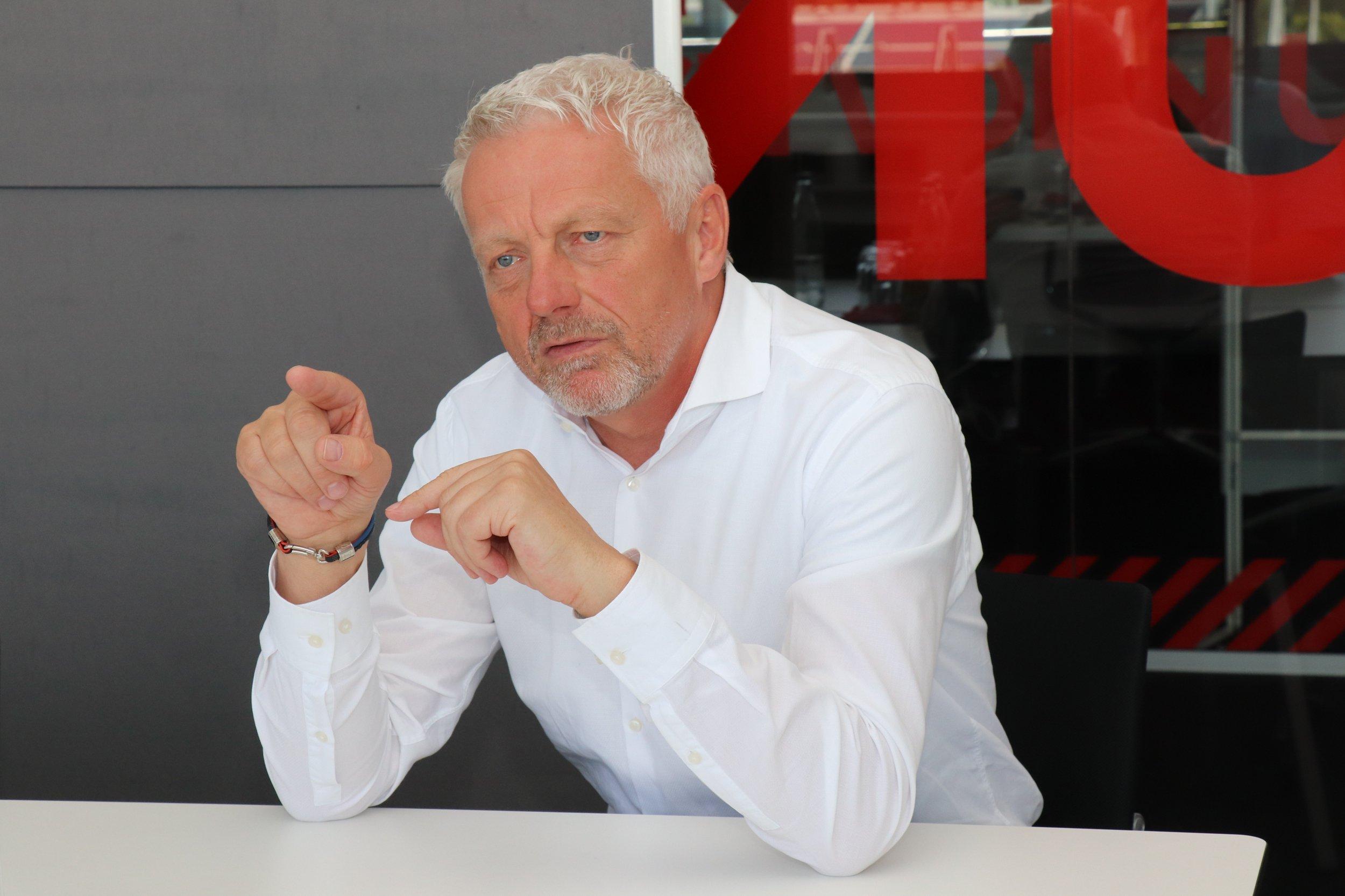 Klemens Isenmann, Geschäftsführer der Alexander Bürkle GmbH & Co. KG.
