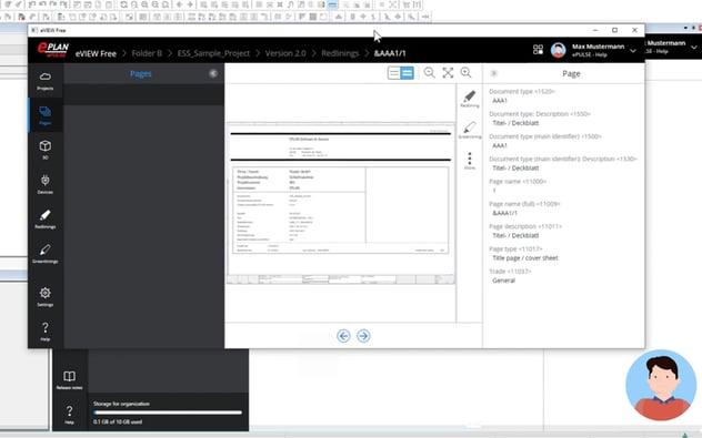 Screenshot eView