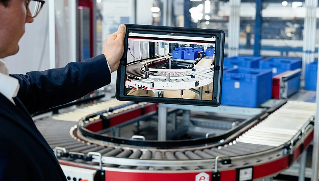 Per Augmented Reality wird der digitale Zwilling sichbar.