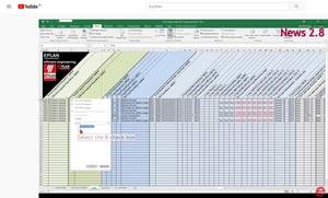 Import von gefilterten Excel Listen in Eplan Preplanning