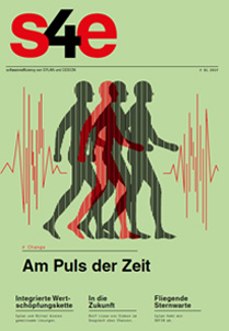 Die s4e ist ein Magazin rund um Enfgineering-Software und Trends in Industrie 4.0.