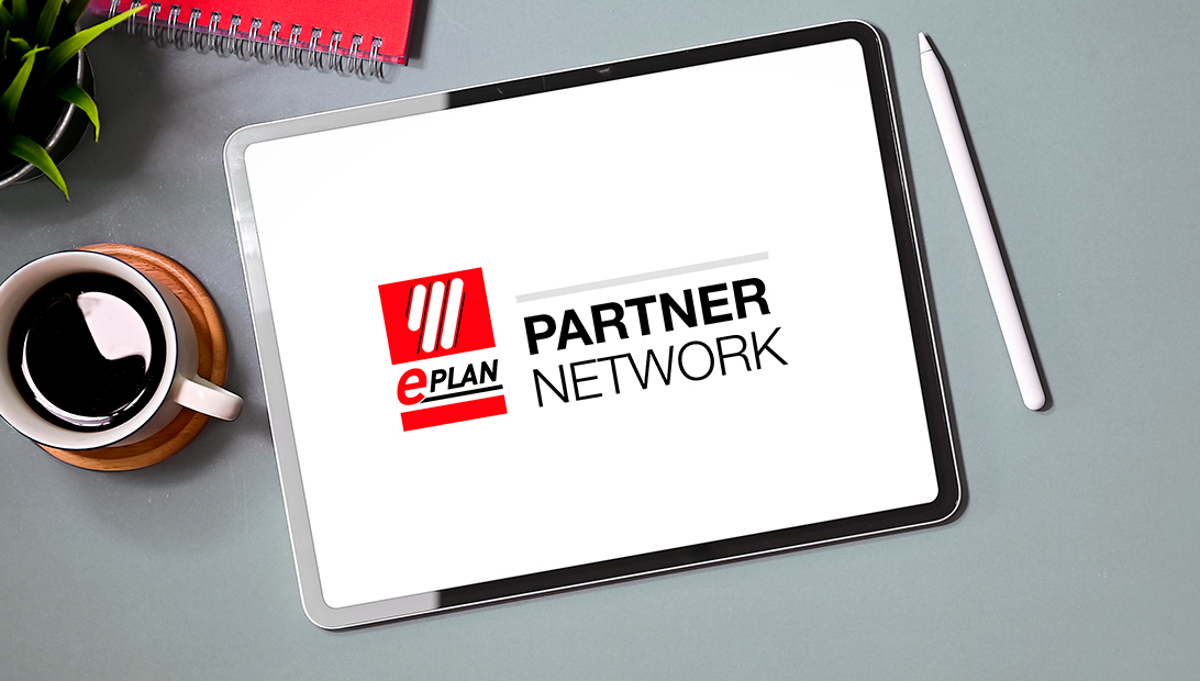 Eplan Partner Network auf Tablet