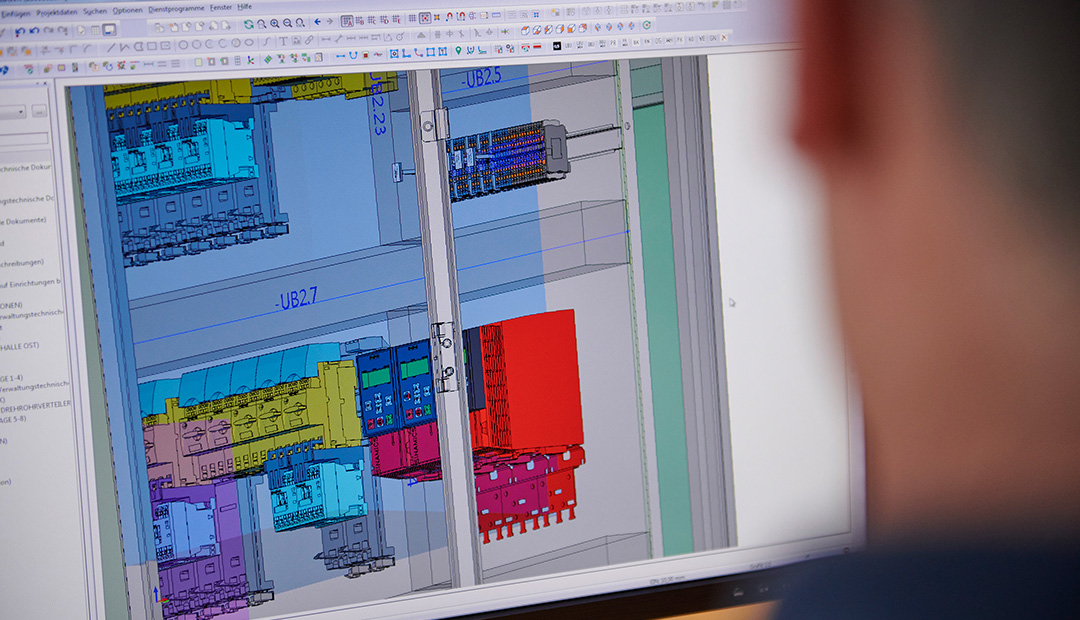 Mit dem Digitalen Zwilling lässt sich der Schaltanlagenbau weitgehend automatisieren.