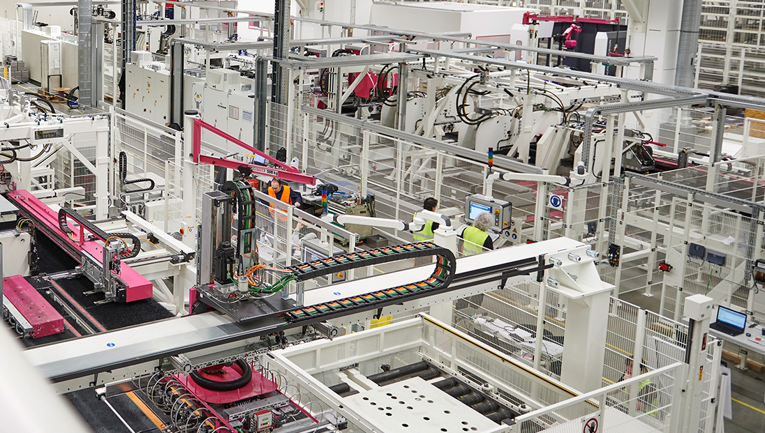 Digitale Transformation der produzierenden Industrie ist ein Muss.